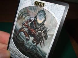 Phyrexian Myr by kilted-katana
