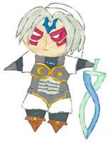 Chibi Oni Link by kilted-katana
