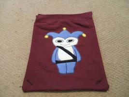 Blue Badger Backpack by kilted-katana