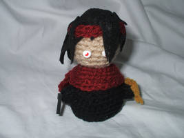 Chibi Crocheted Vincent Valentine by kilted-katana