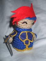 Chibi Crocheted Roy by kilted-katana