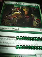 Somberwald Dryad Life Counter by kilted-katana