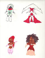 Chibis Collection 1 by kilted-katana