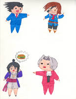 Chibis Collection 2 by kilted-katana