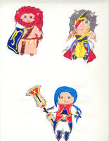 Chibis Collection 3 by kilted-katana