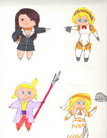 Chibis Collection 4 by kilted-katana