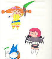 Chibis Collection 7 by kilted-katana
