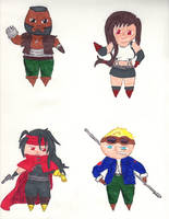 Chibis Collection 8 by kilted-katana