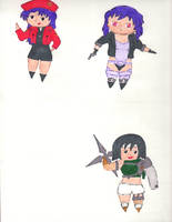 Chibis Collection 9 by kilted-katana