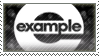 . Example STAMP . by xBlueBear