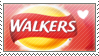 . Walkers Ready Salted Crisps STAMP . by xBlueBear