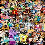 Every Cartoon Childhood/Adulthood PNG