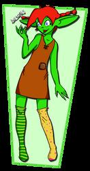 Pippi Goblinized by powermogri