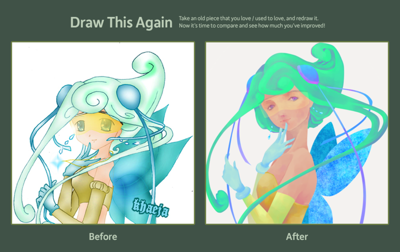 Draw this Again 08 vs 12 by khaeja