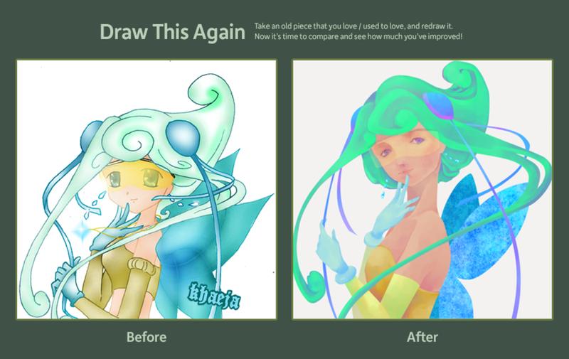Draw this Again 08 vs 12 by khaeja