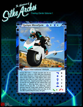 Silke Arches Trading Cards ~ Cyclops MonoCycle