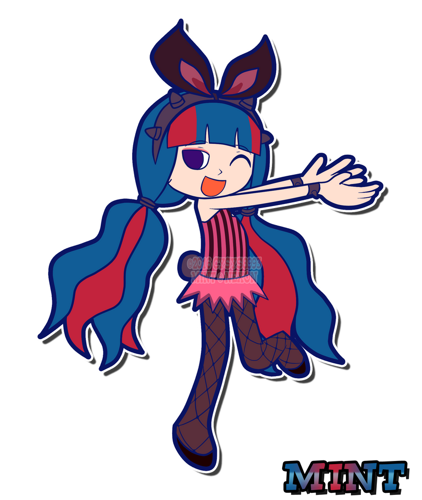 Mint (Pop'n Music Style) by CYSYS8993