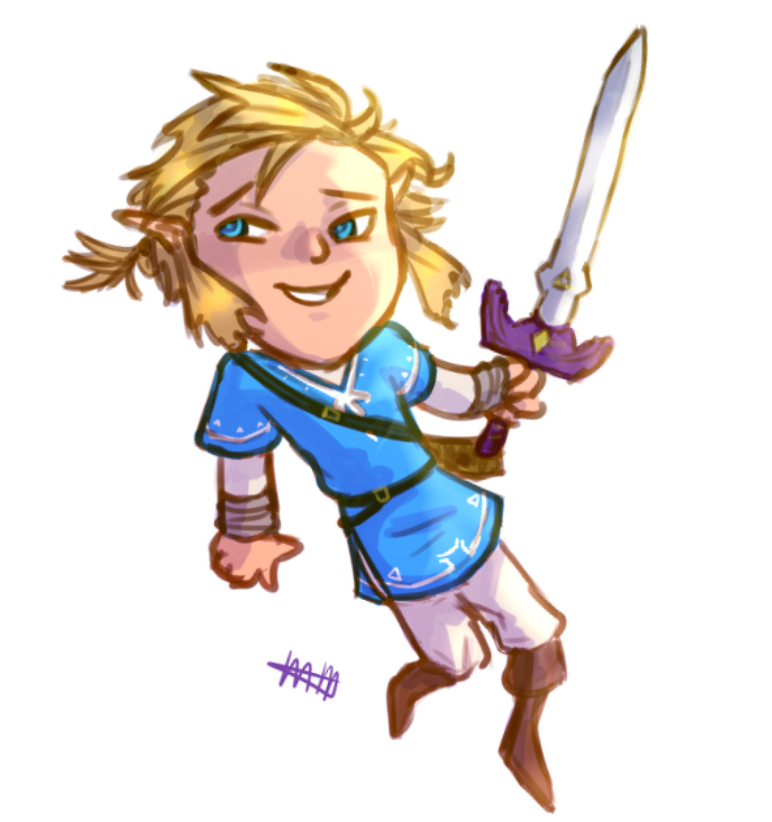 BOTW Link by agaveflower