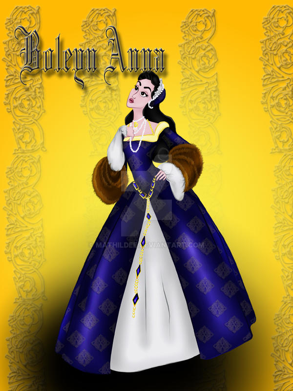 Anne Boleyn by MathildeE