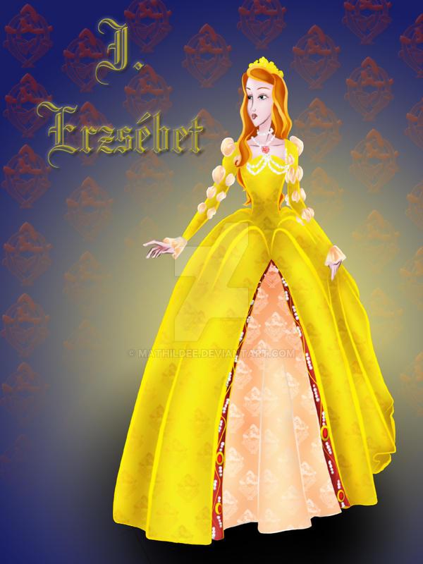 Elizabeth I by MathildeE