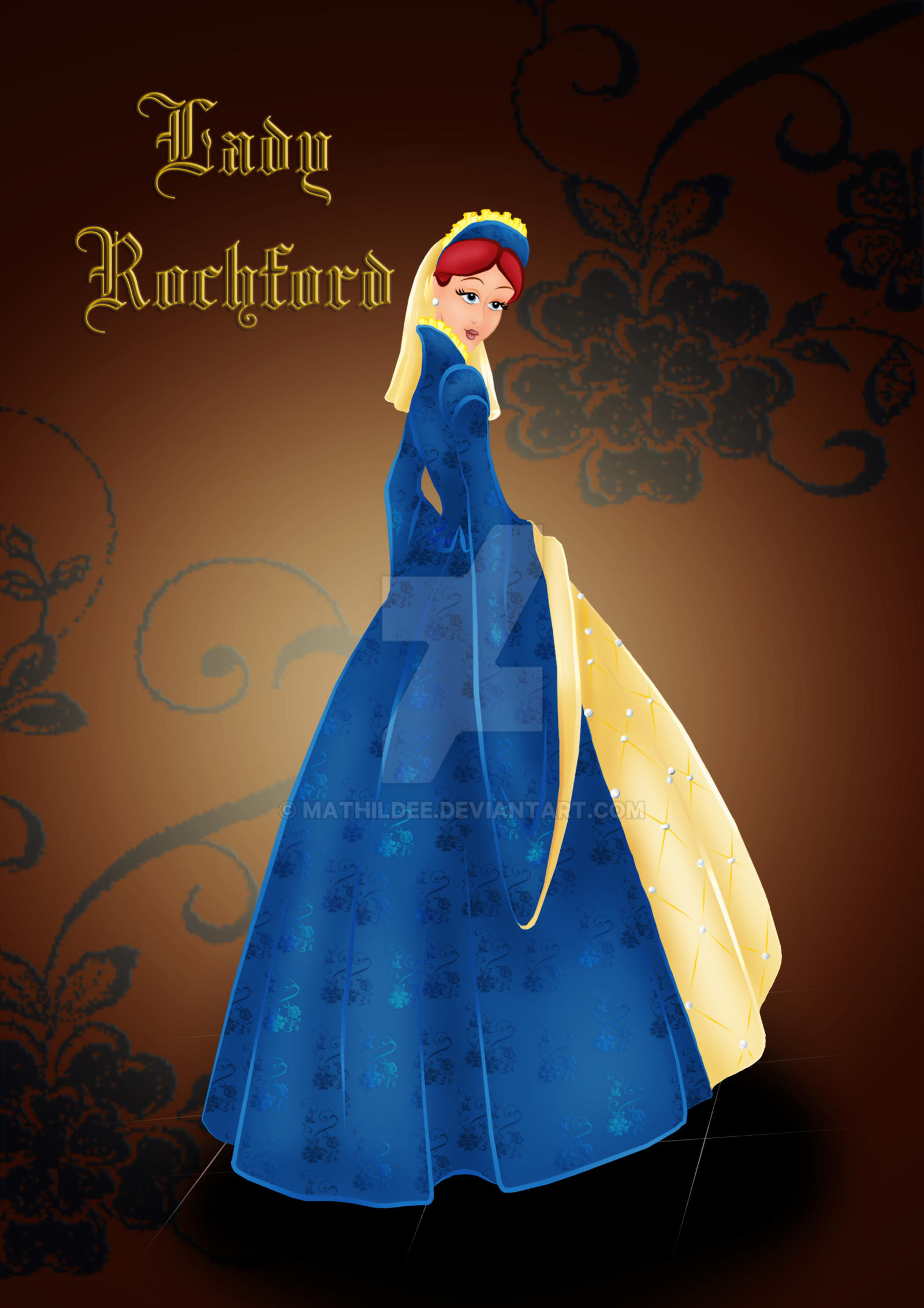 Lady Rochford by MathildeE