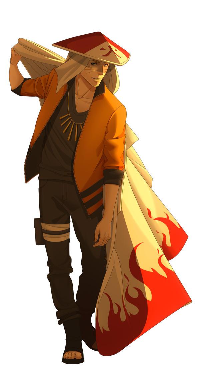 Naruto seventh Hokage by NeonBlast