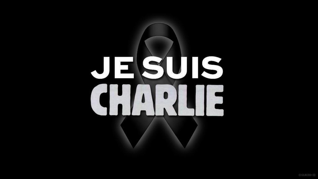 Je-Suis-Charlie Ruban-Noir by Samcro-33