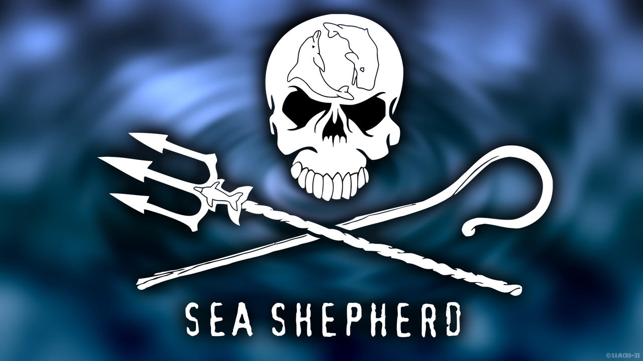 sea shepherd wallpaper water by samcro 33 on deviantart. Black Bedroom Furniture Sets. Home Design Ideas