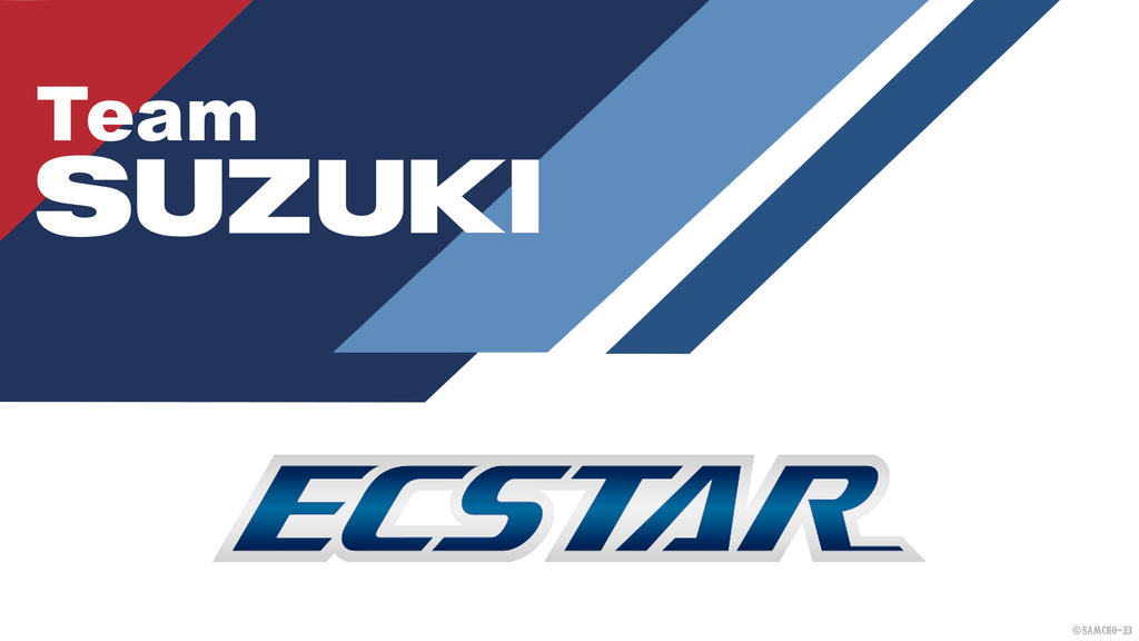 Team Suzuki Ecstar Logo By Samcro 33
