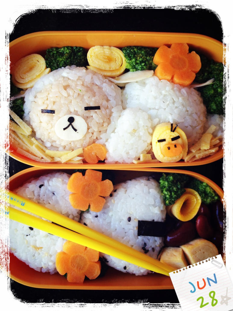 Rilakkuma lunch by loveewa