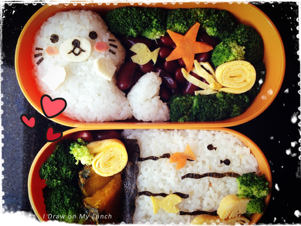 Baby Seal lunch box by loveewa