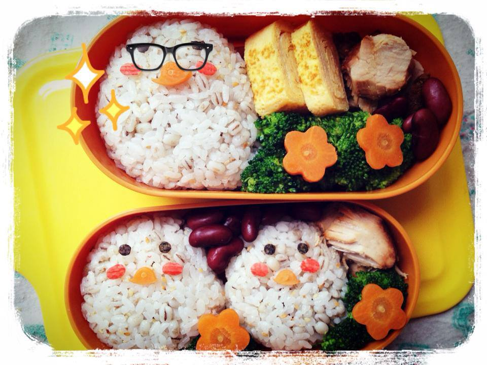 Chick Chick Chick Lunch box by loveewa