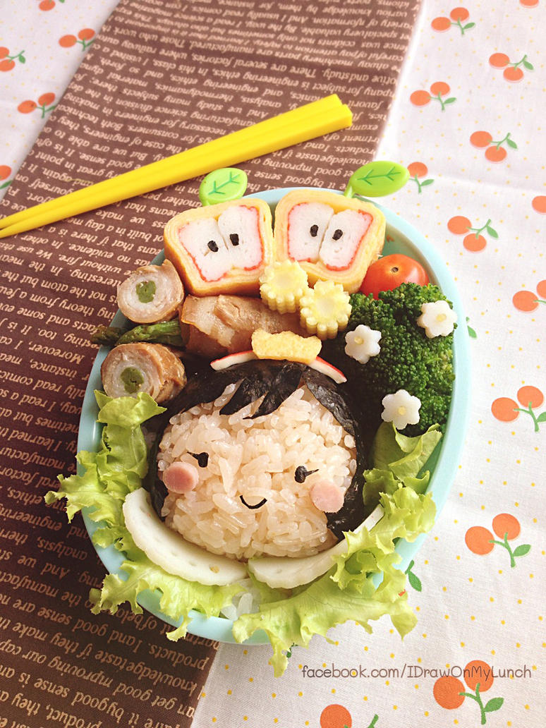 Tiny Snow White Bento Lunch box by loveewa