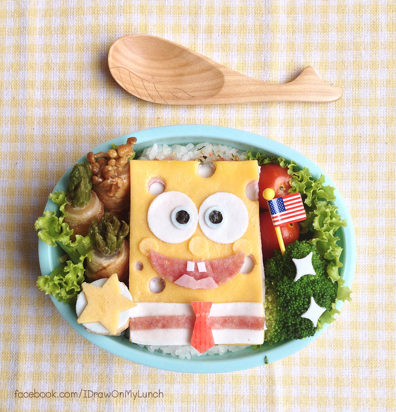 Spongebob Bento lunch box by loveewa