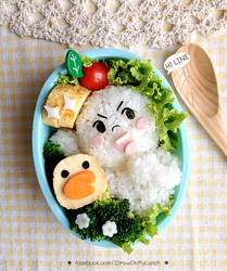 LINE Moon and Sally Bento Lunch box