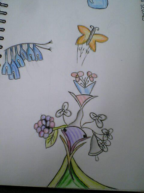 Something I Drew in Art :D by MewMewGirl01