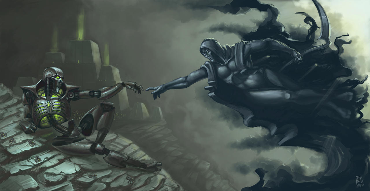 The Creation Of Necron By Flasherexe On Deviantart
