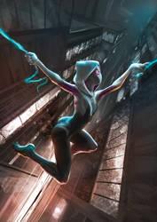 Spider Gwen by flasherexe