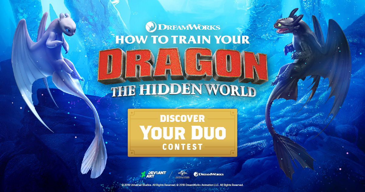 How to Train Your Dragon Discover Your Duo Contest by GO on DeviantArt