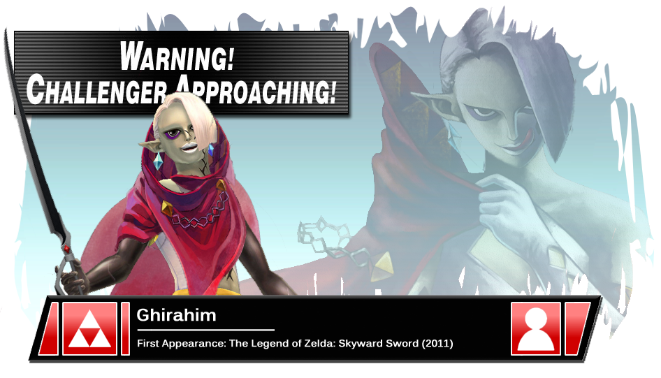 Super Smash Bros. Ultimate (Ridley Me This) - Page 3 Ssb4_banner__ghirahim_by_pixiy-d5ydj21