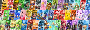 Smash Bros. for Wii U/3DS Roster - Incomplete! by Pixiy