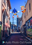 Sonic and Tails in the Streets