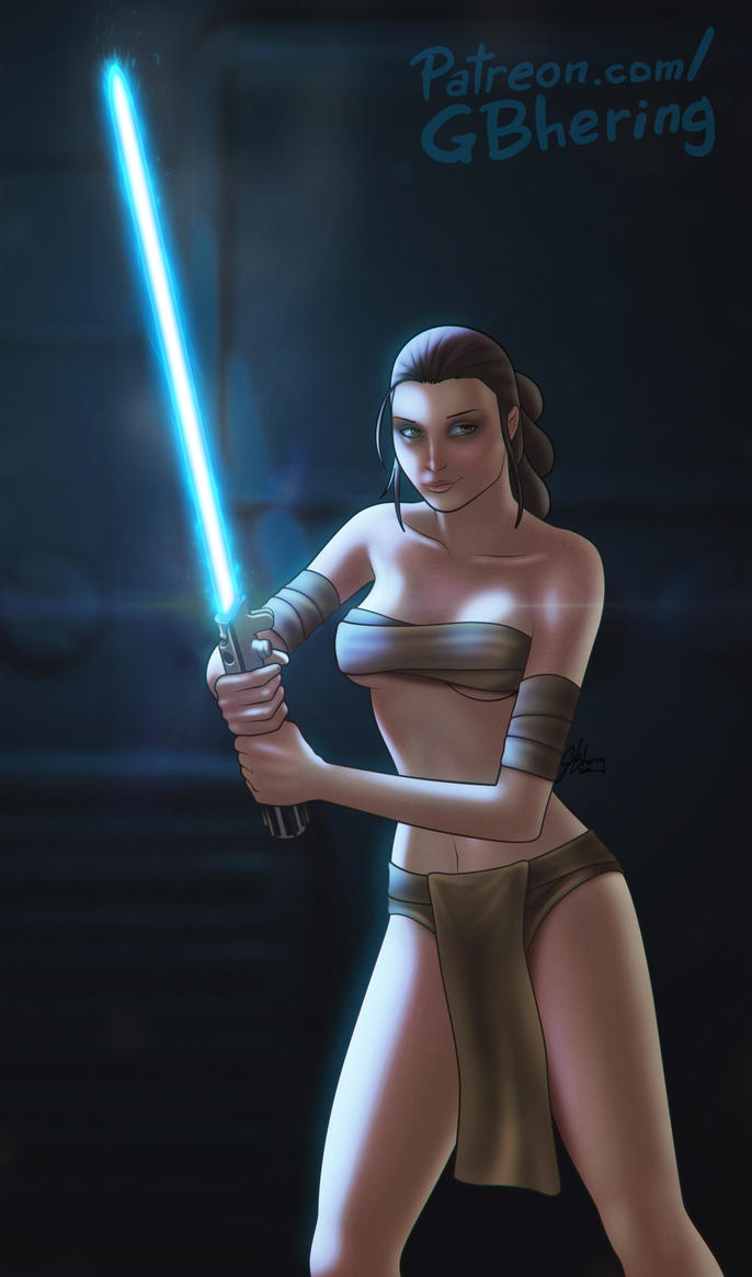 Sexy Nude Star Wars 26
