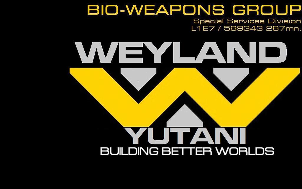 No necessity for Weyland-Yutani  'Corp' monniker by eaglespear