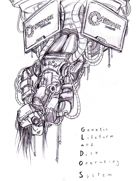 GLaDOS - human by Tsukuyomaru on DeviantArt