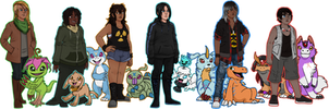 Digimon: Entropy team by Tsukuyomaru