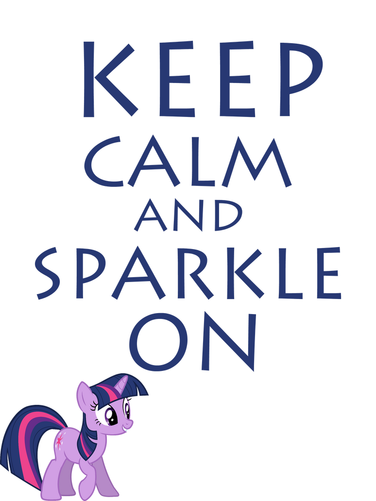 Keep Calm And Sparkle On by Mt80
