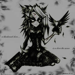 + a blackened dove + by ephidrine