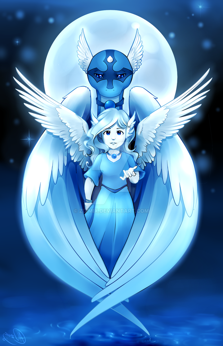 Guardian and Angel by zixmix