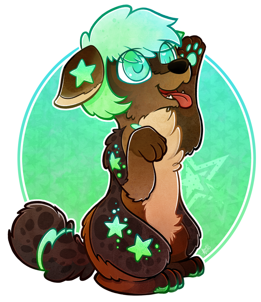 Star Pup by zixmix